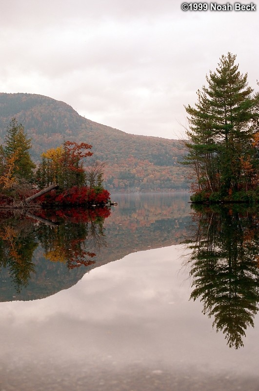 October 17, 1999: New England foliage